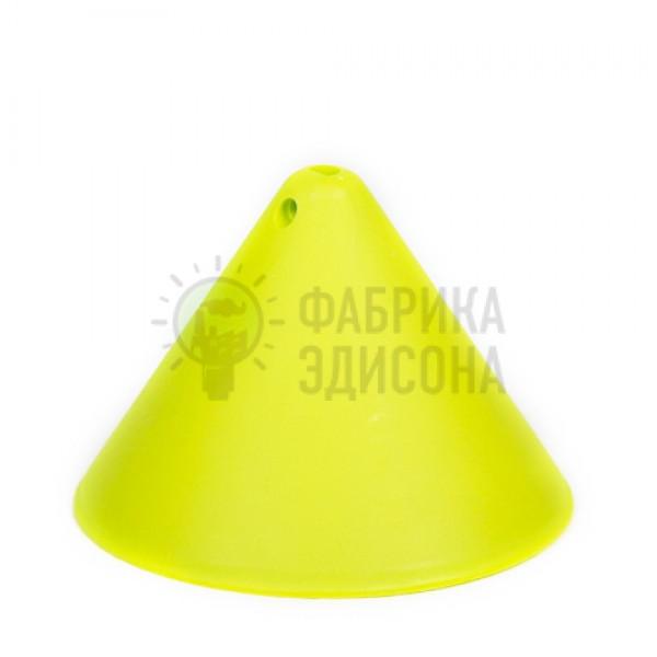 Пластиковый потолочный крепеж конус Салатовый