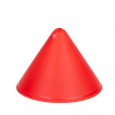 Пластиковый потолочный крепеж конус Красный