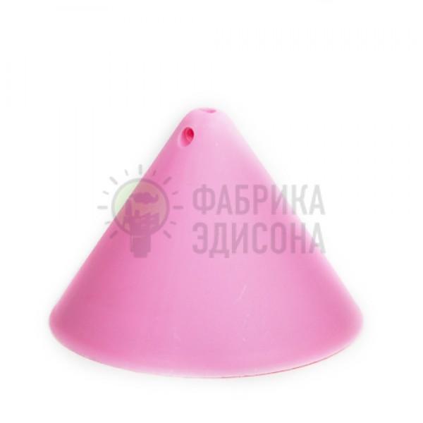 Пластиковый потолочный крепеж конус Розовый