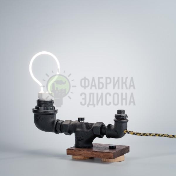 Настільна лампа Duct Black