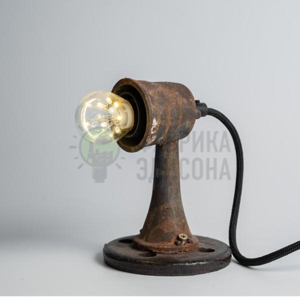 Настільна лампа в стилі лофт Dark Rust