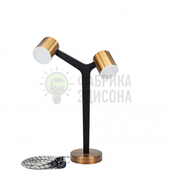 Настольная лампа Lamana LED 2 Black&Gold