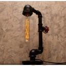 Настільна лампа з труб Lipen Black