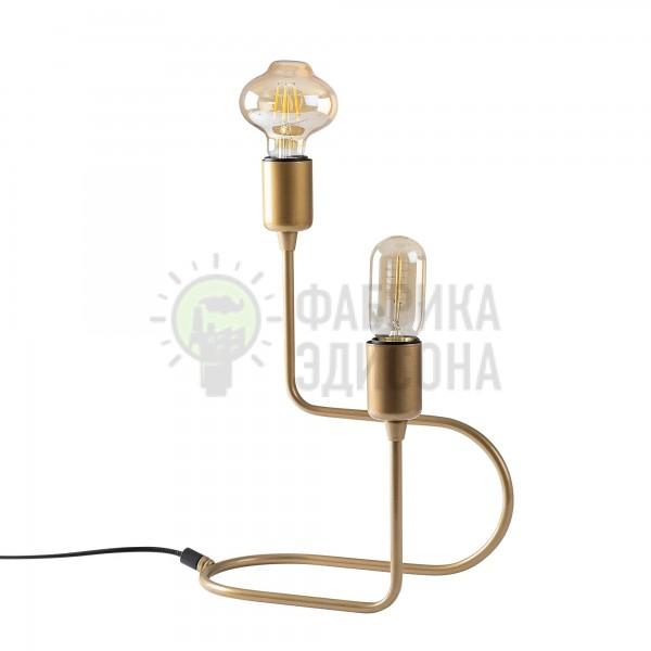 Настільна лампа Uilan 2 Gold