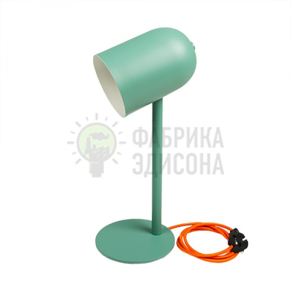 Настольная лампа Nordic Green + лампочка в подарок