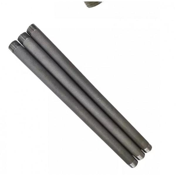 Труба стальная с резьбой 15 см