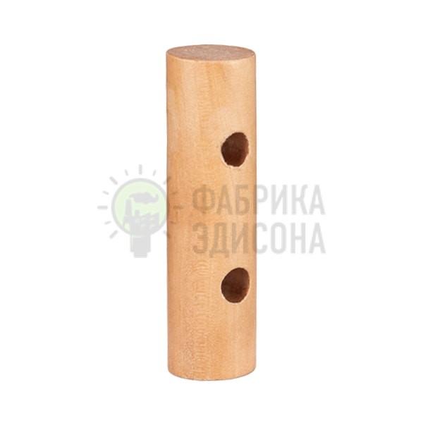 Крепеж декоративный для провода деревянный